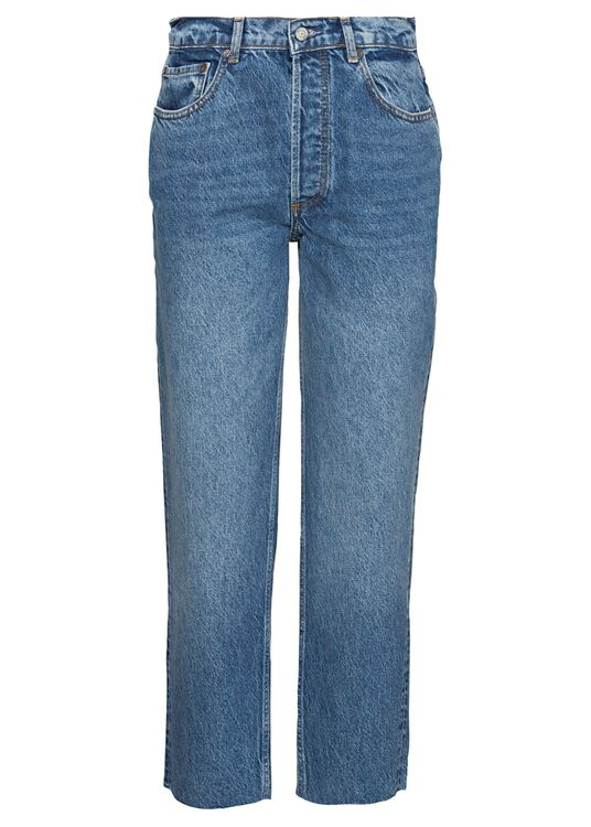 -TOMMY HIGH RISE STRAIGHT JEAN, Blau, large image number 0
