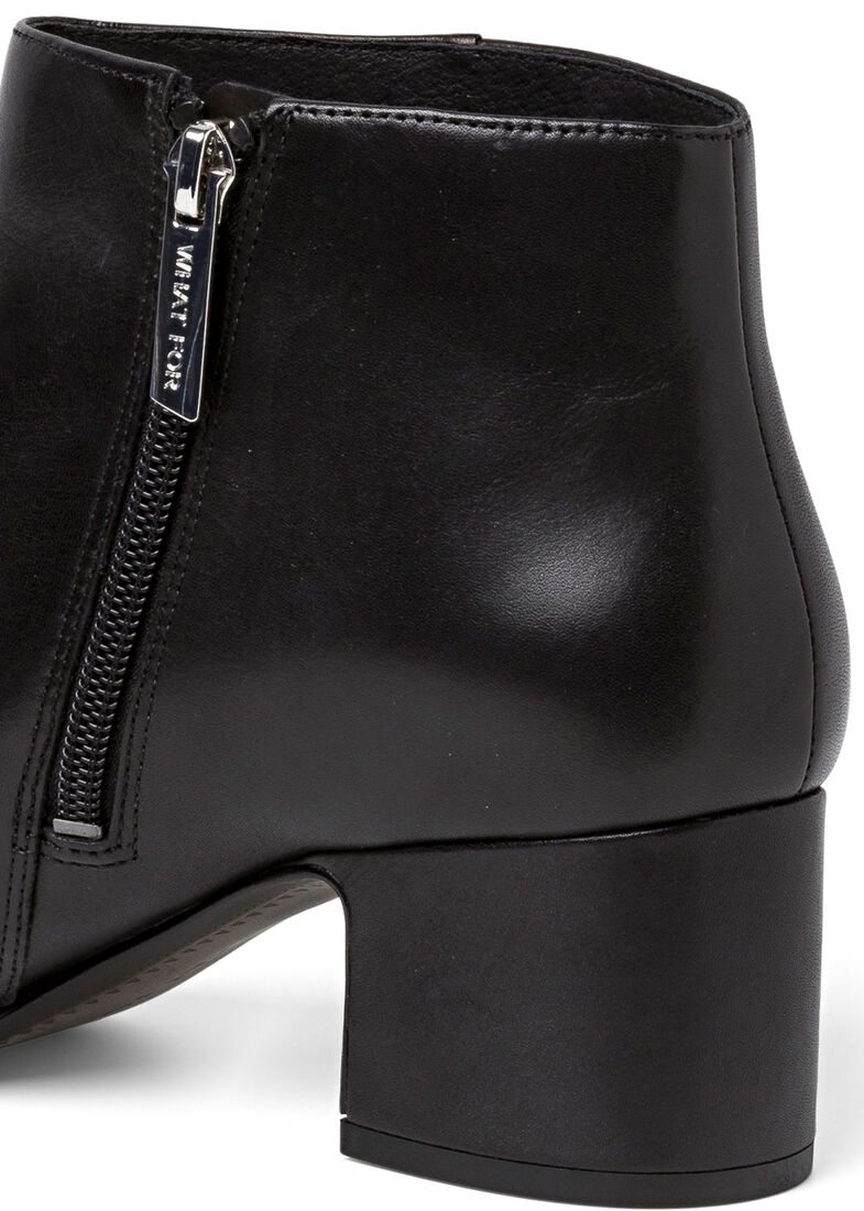 10_Marylin Classic Bootie Calf, Schwarz, large image number 3