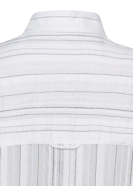 DRAPEY STRIPE CONVERTIBLE BUTTON Down image number 3