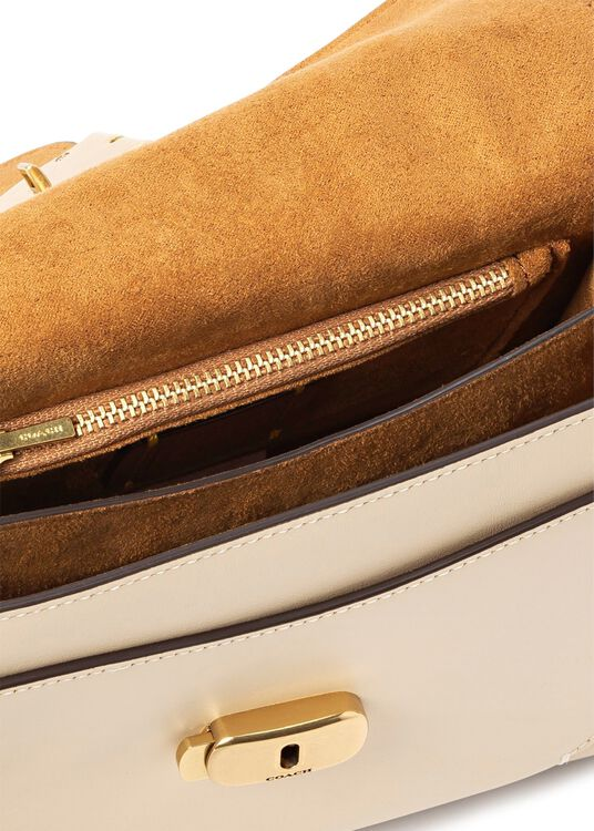 leather covered c closure tabby top handle 20 image number 3