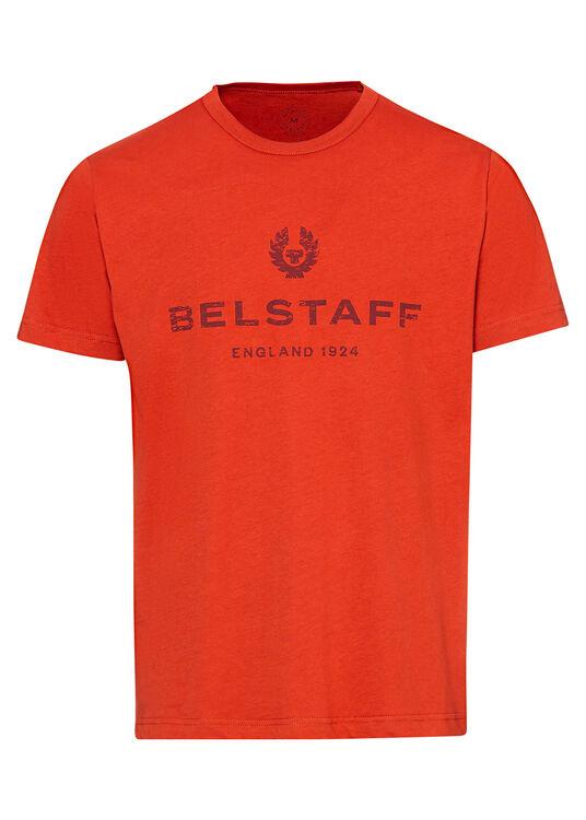 BELSTAFF 1924 DISTRESSED T-SHIRT image number 0