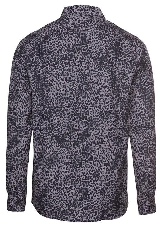 jungle ss shirt black leopard image number 1