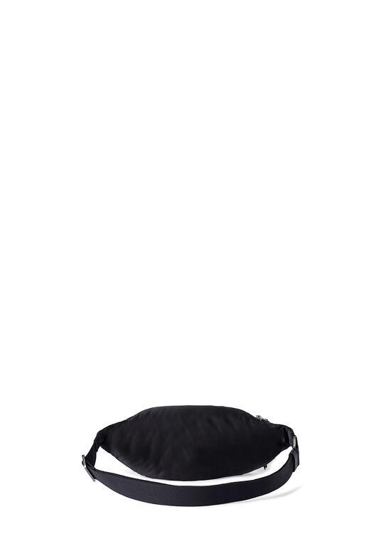 CURVED LOGO FANNYPACK  BLACK SILVER image number 1