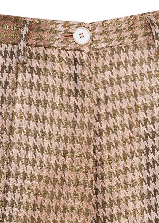 pied de poule fluidjacquard high waistpants image number 2