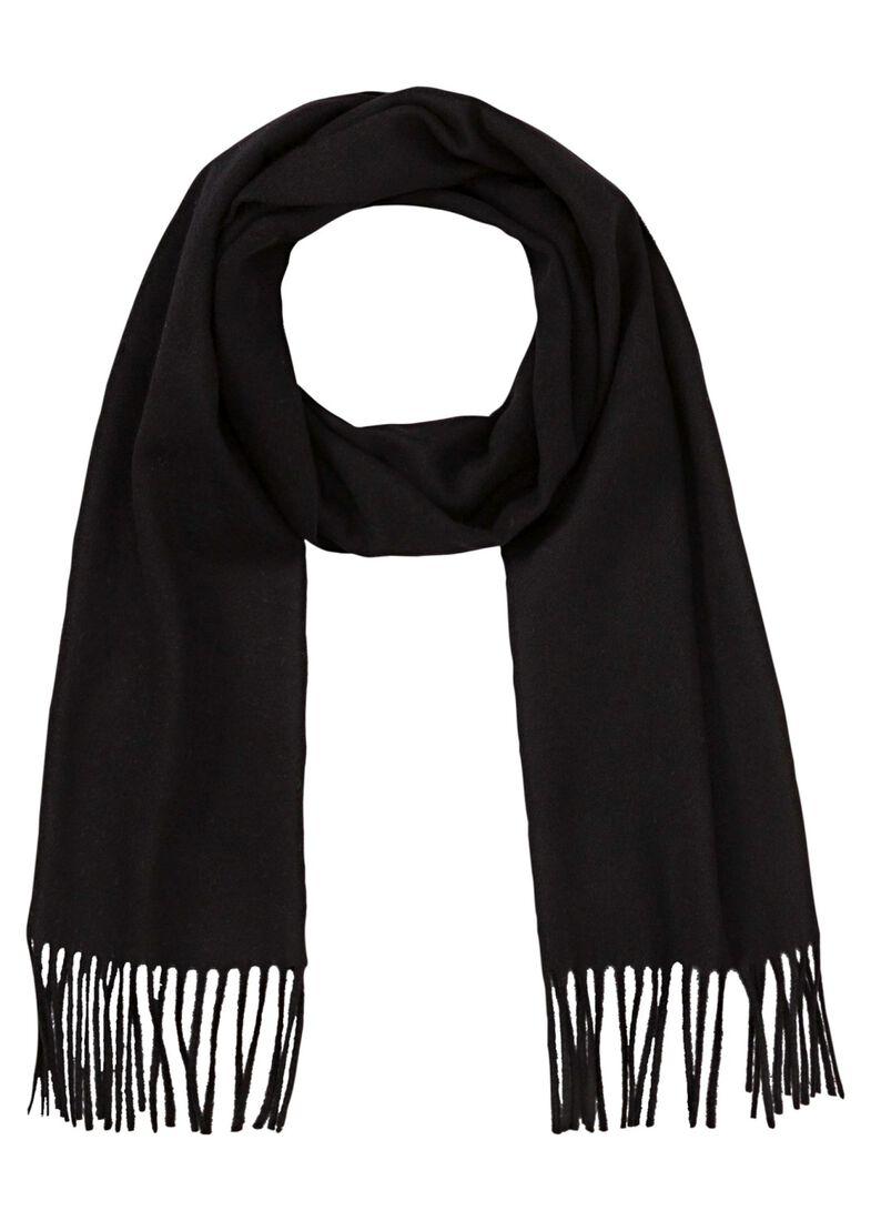 SYLAN      Wool scarf male, Schwarz, large image number 0