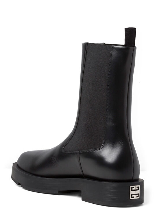 SQUARED FLAT CHELSEA ANKLE BOOT image number 2