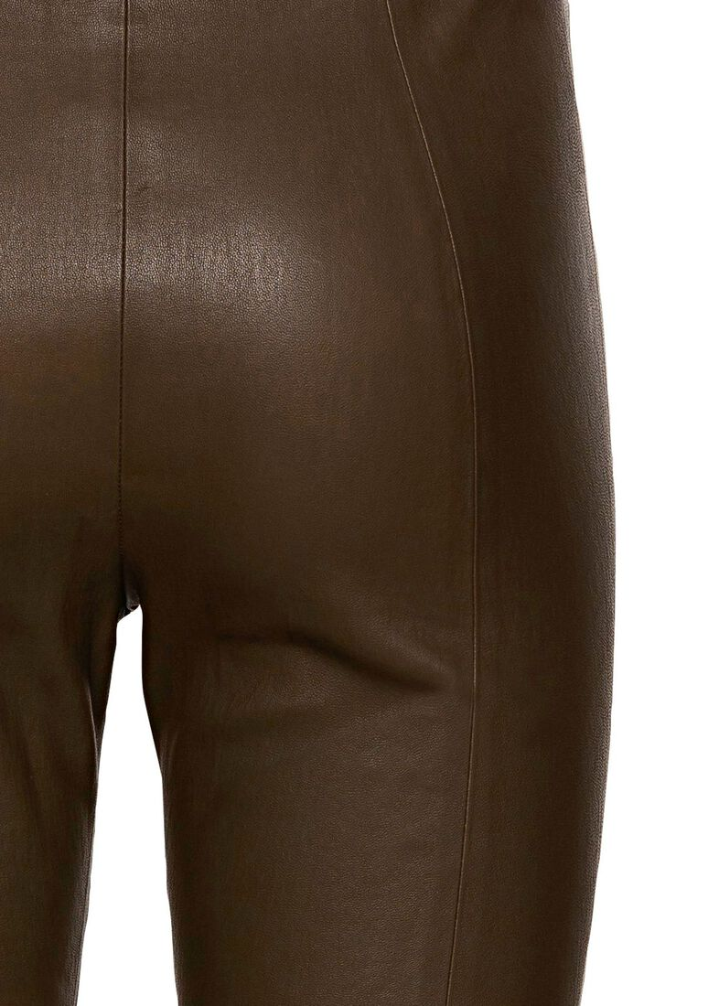 LEATHER CROP / LEATHER CROP, Braun, large image number 3