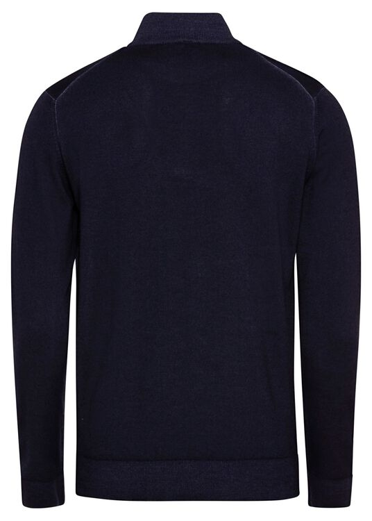 MEN'S KNITTED SWEATER C.W.WOOL image number 1