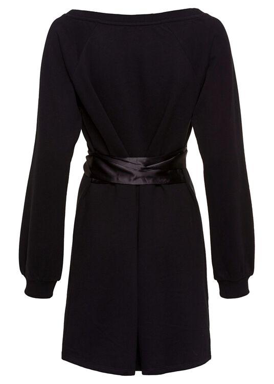 Fleece Dress with Sa image number 1