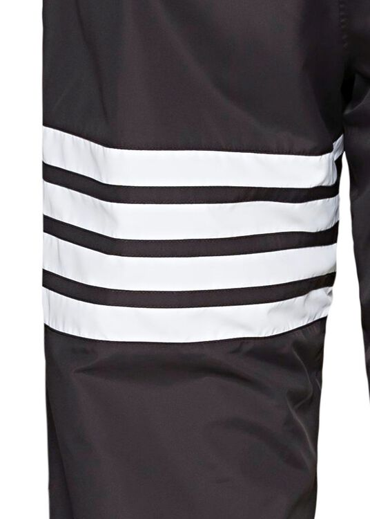 TRACK PANTS W/ 4 BAR IN FLYWEIGHT TECH, Schwarz, large image number 3