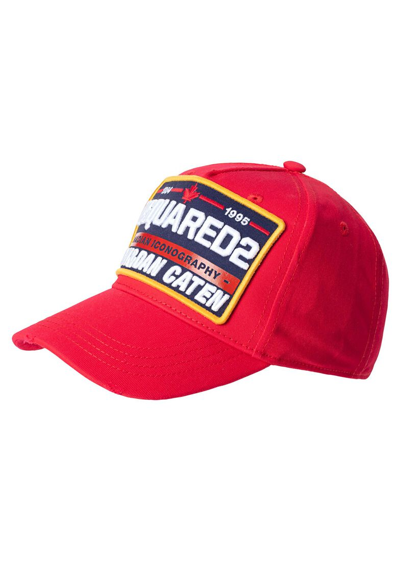 BASEBALL CAP, Rot, large image number 0
