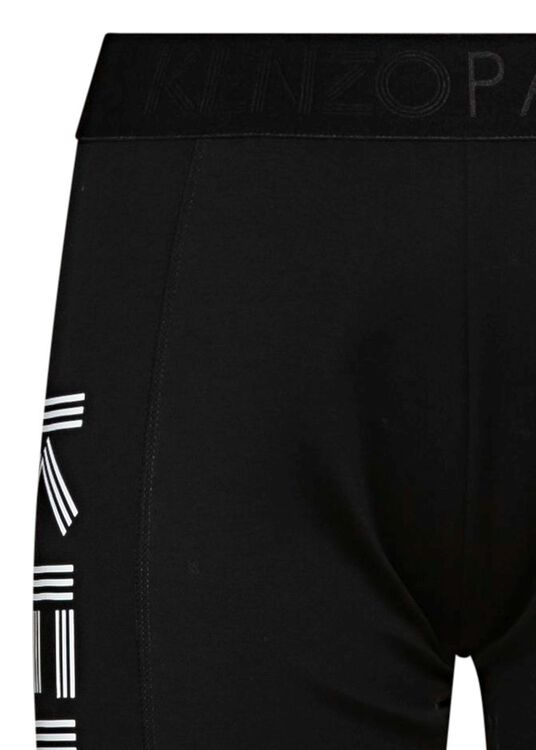KENZO SPORT CYCLIST PANTS, Schwarz, large image number 2