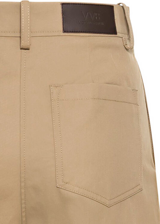 FLARED CHINO TROUSER image number 3