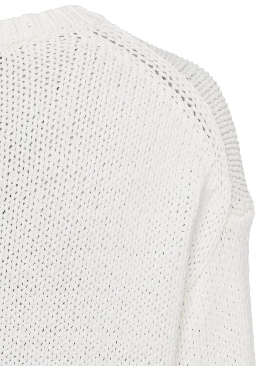 Ripp-Pullover in Garn-Optik image number 3
