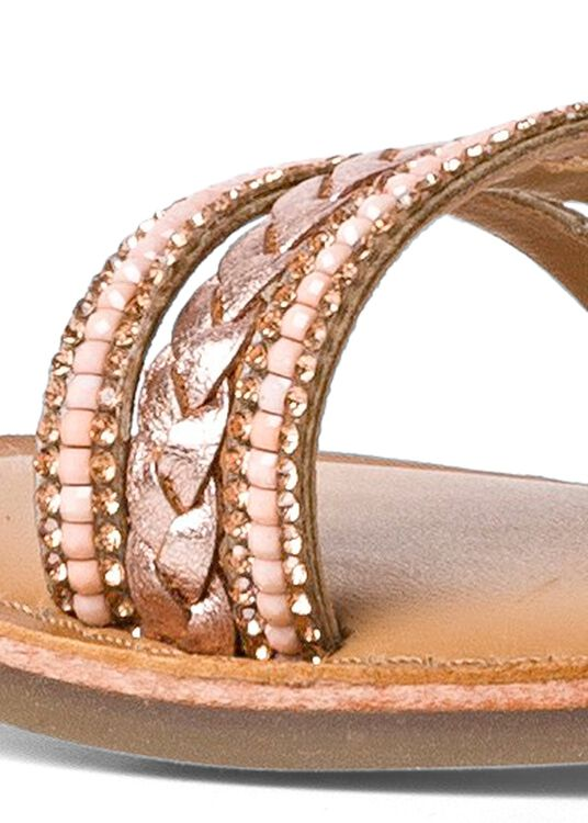 Sandale mit Steinen image number 3