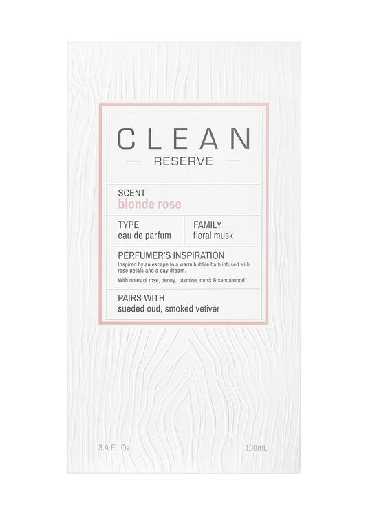 Clean, Blonde Rose EdP 100ml image number 1