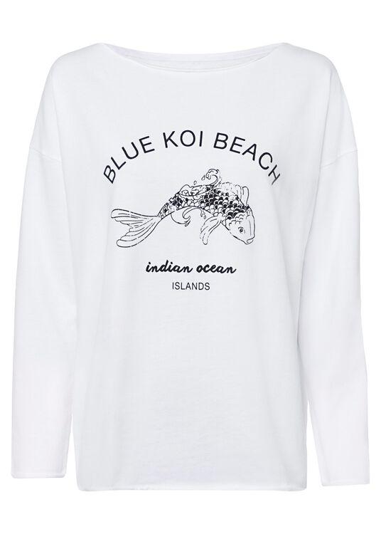 "Fleece Sweater ""Blue image number 0"