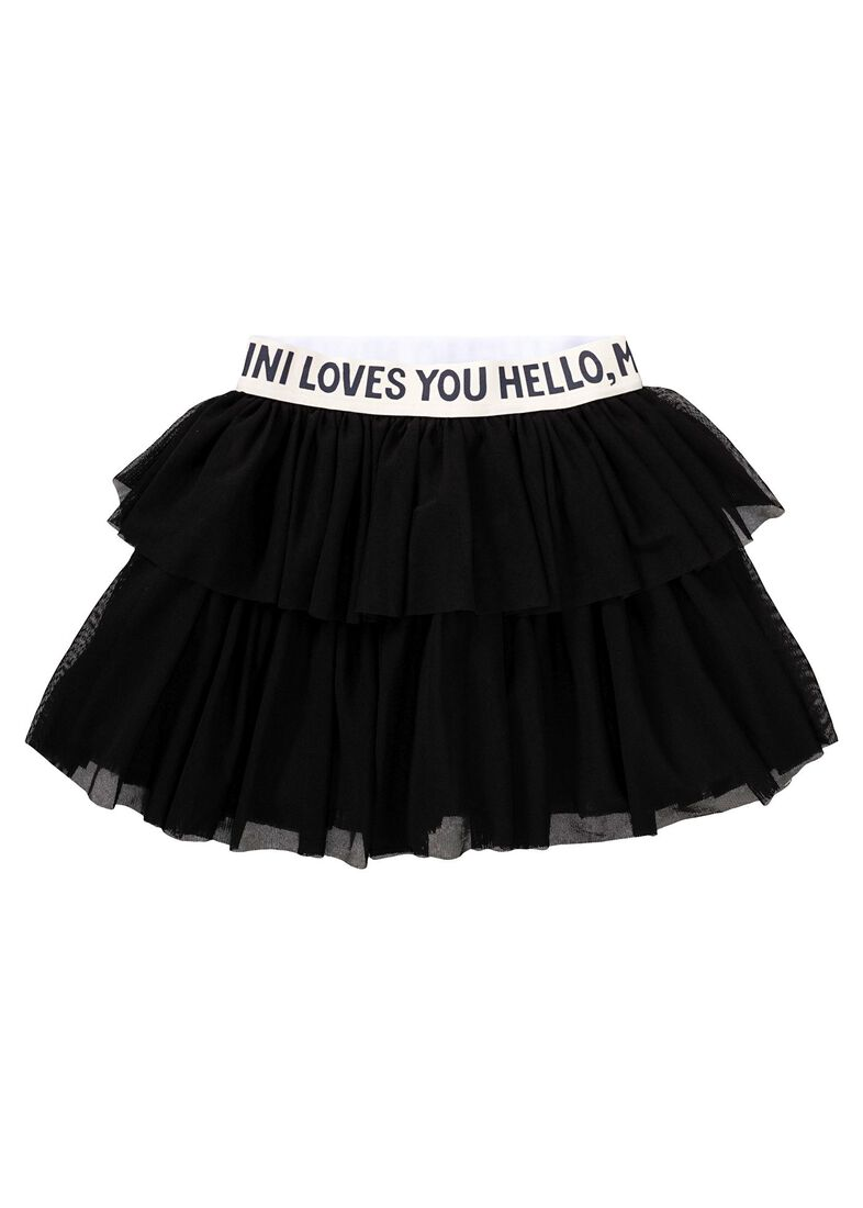 Tulle Skirt, Schwarz, large image number 0