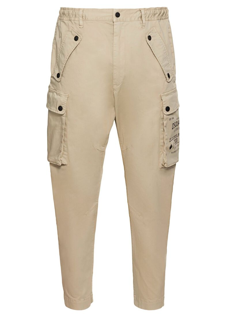 PANTS, Beige, large image number 0