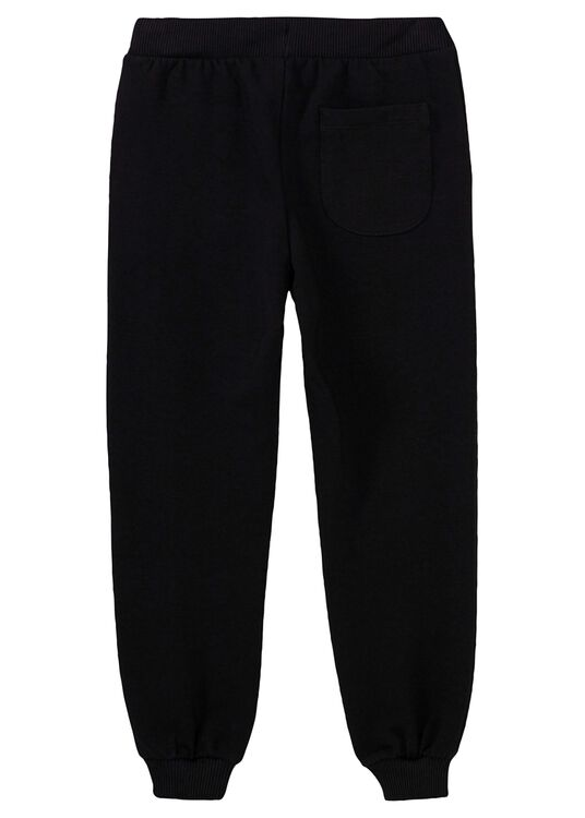 Teddy Puzzle Sweat Pants, Schwarz, large image number 1