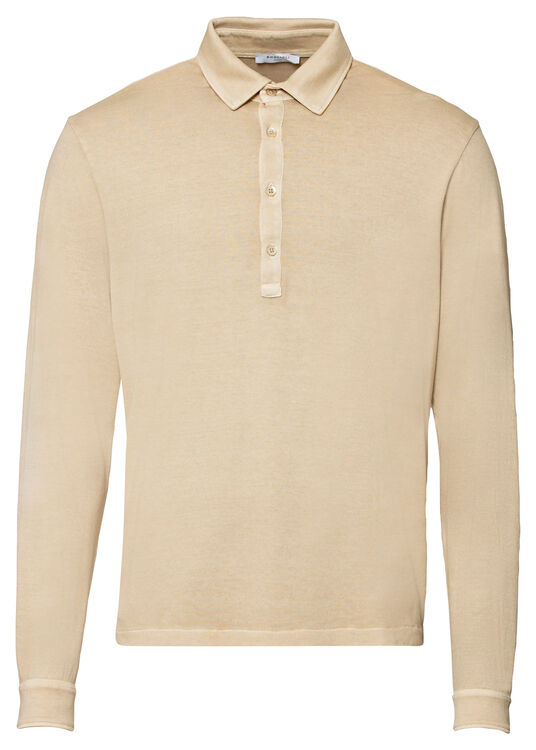 Washed Polo LS image number 0