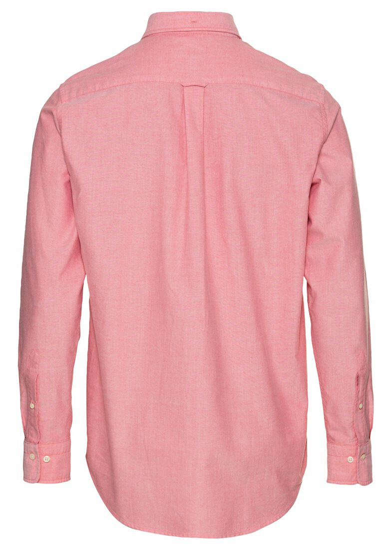 REG OXFORD SHIRT BD, Rosa, large image number 1