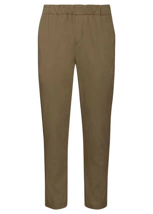 JOGGER CHINO Tech Series Olive Green image number 0