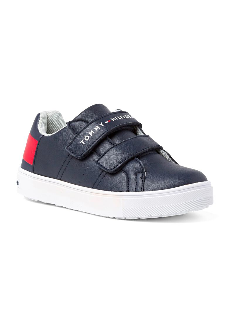 Low Cut Velcro Sneaker, Blau, large image number 1