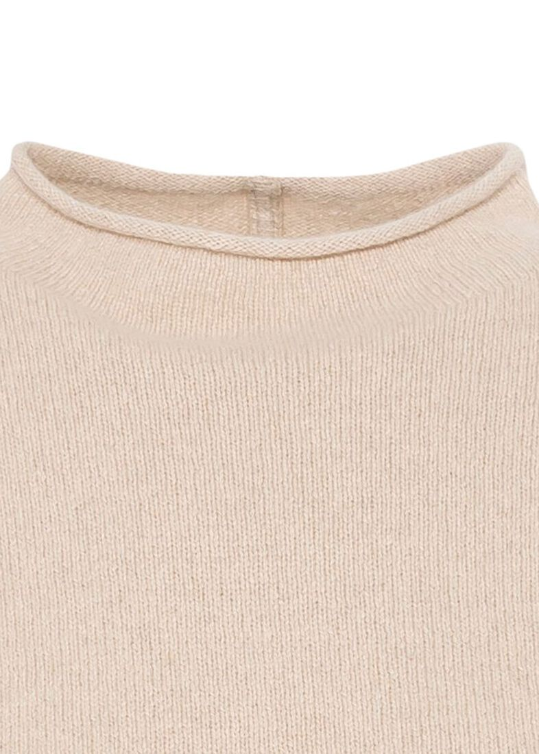 CAMERON BOXY CRP ROLLNECK SWTR, Beige, large image number 2