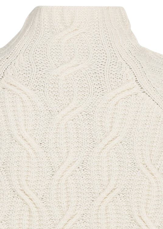 TEXTURE CABLE TURTLENECK image number 3
