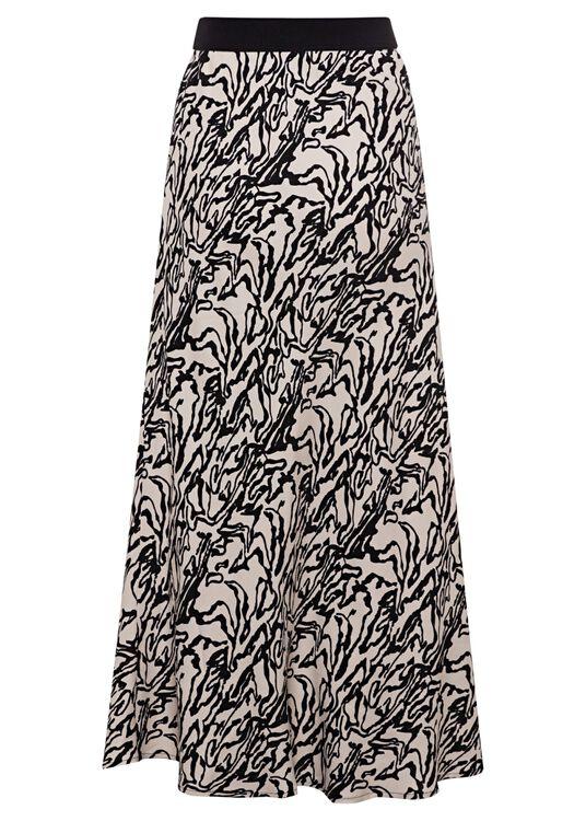 Manmade fibr skirt female image number 1