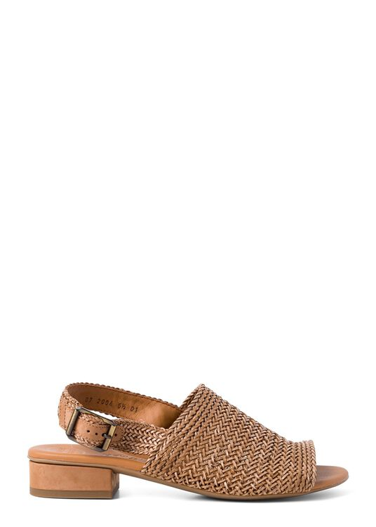 21_Woven Leather Sandal 20mm image number 0
