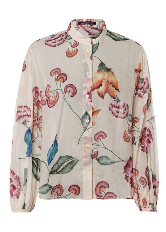 Bluse mit Vintage-Flower-Print image number 0