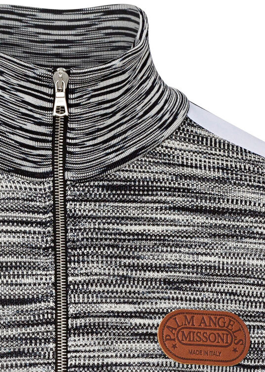 PA MISSONI KNITTED TRACK JKT image number 2