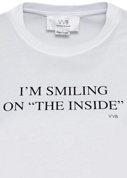 I'M SMILING ON THE INSIDE T-SHIRT image number 2