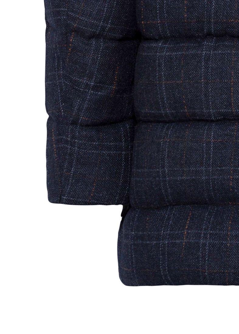 Men's Woven Half Coat, Blau, large image number 3