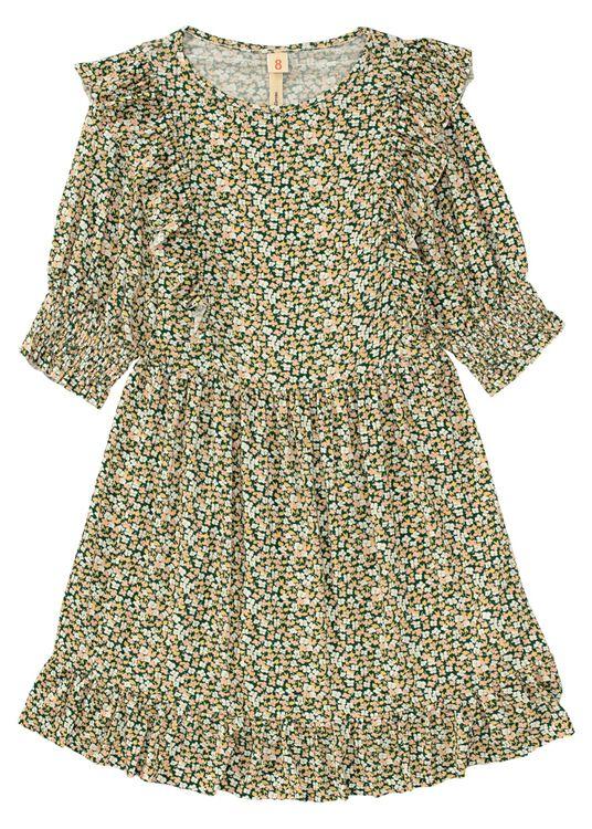 Miu LS Dress w Flowers image number 0