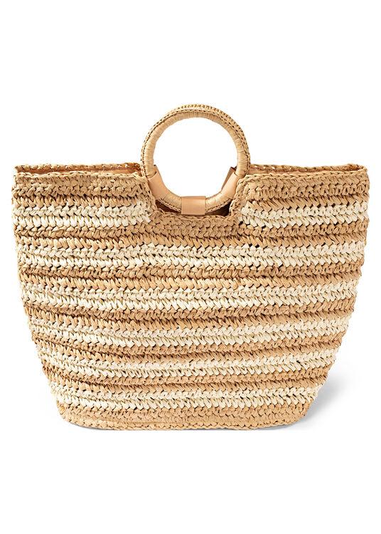Stripe Beach Bag image number 0