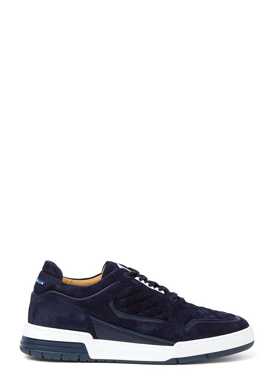Low Top - Turbo - Blue Velour image number 0