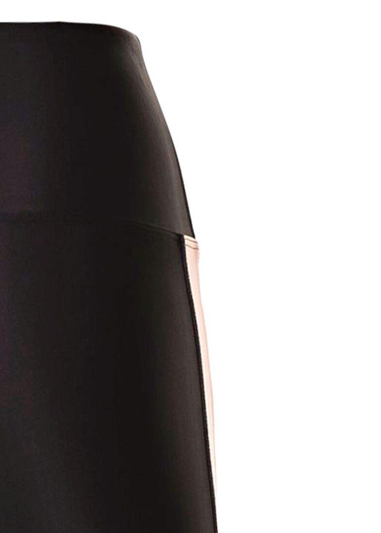 Side Runner Legging, Schwarz, large image number 3
