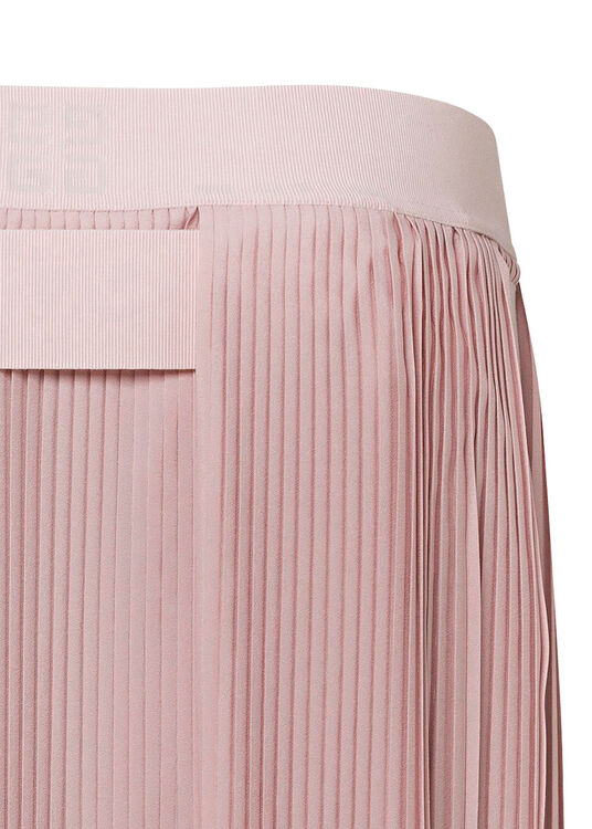 LONG ASYMETRICAL PLEATED SKIRT image number 3
