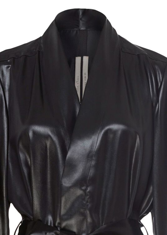 CAPPOTTO - DAGGER ROBE, Schwarz, large image number 2