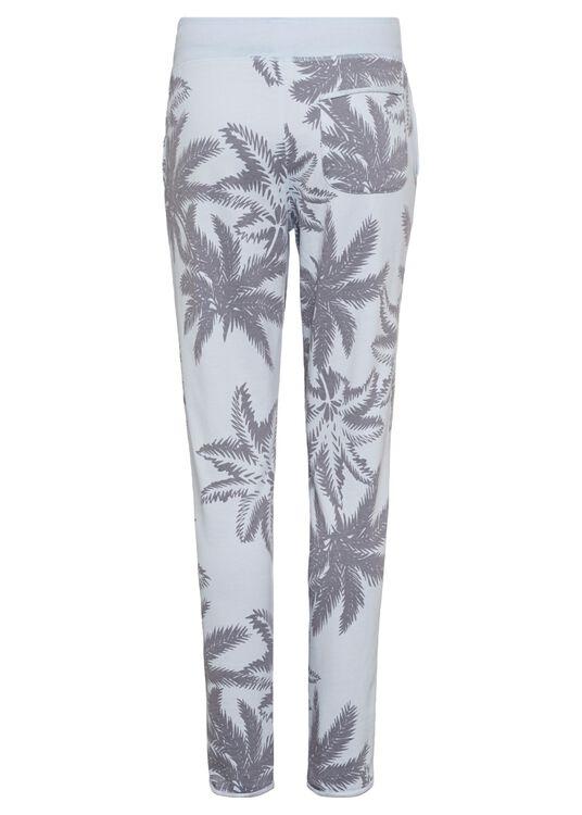 Devoré Palms Trouser, Blau, large image number 1