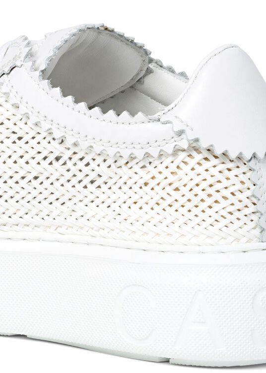 Woven Leather Sneaker image number 3