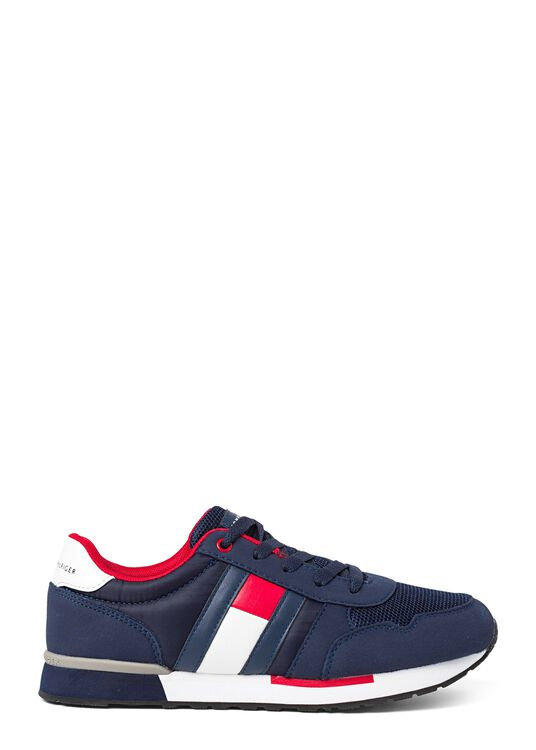 Low Cut Lace up Sneaker, Navy, large image number 0