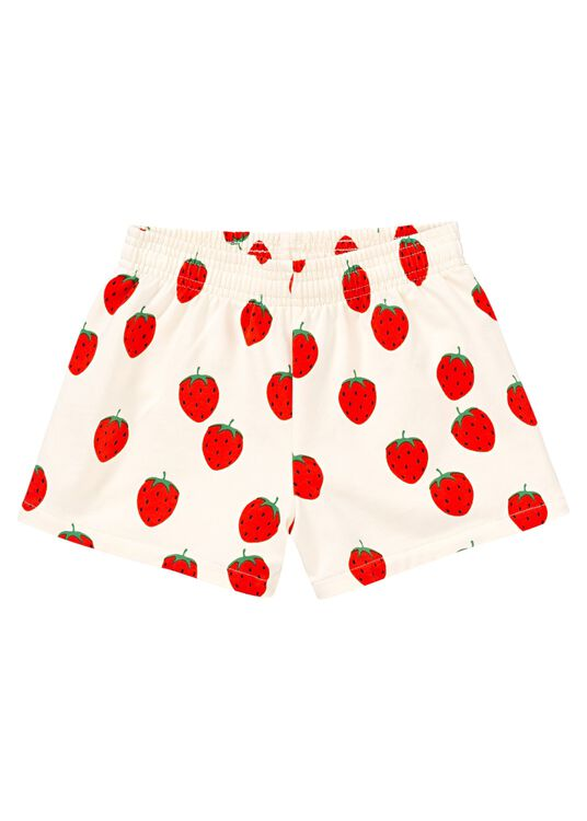 Strawberry AOP Sweat Shorts image number 4