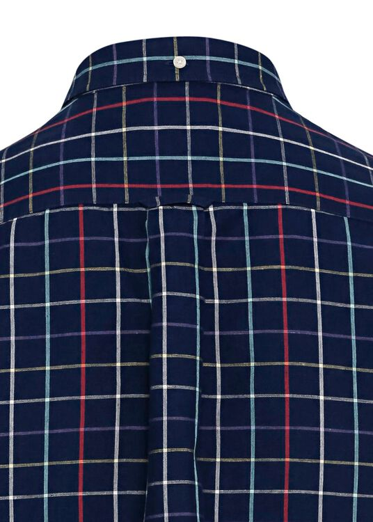 D2.REG COTTON LINEN CHECK BD image number 3