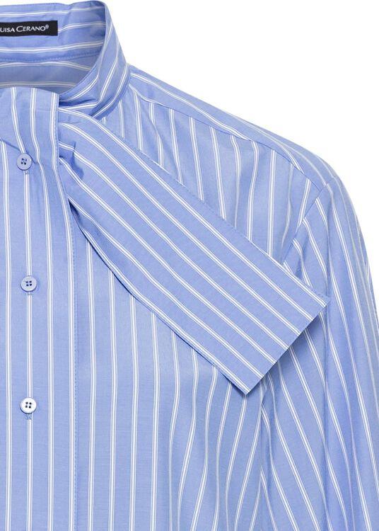 Schluppen-Bluse mit Streifen image number 2