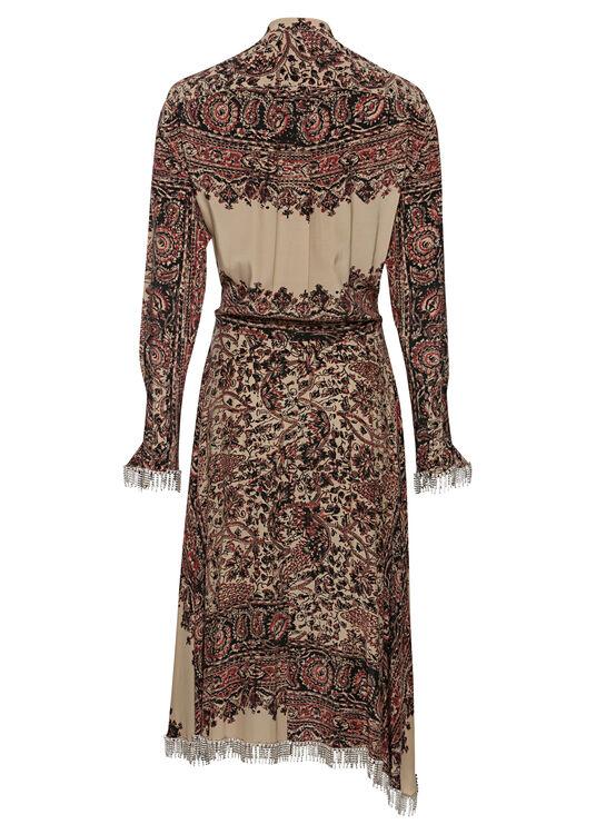 EMBELLISHED ASYMMETRIC SHIRT DRESS image number 1