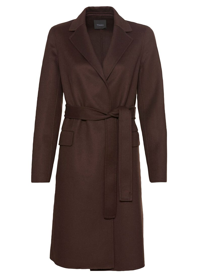 belt coat.luxe new d, Braun, large image number 0
